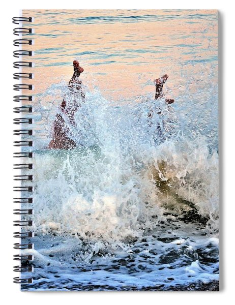 Diving In Spiral Notebook