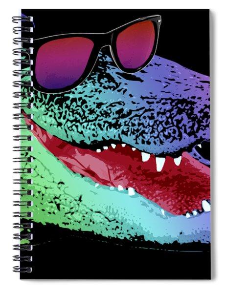 Dj Alligator Spiral Notebook