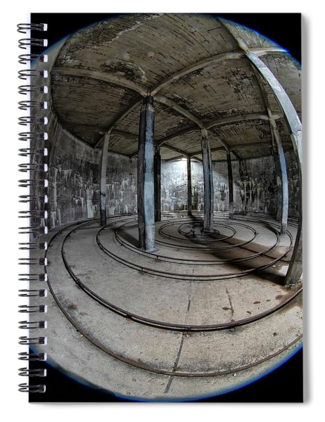 Djupavik Cannery Herring Oil Tank Spiral Notebook
