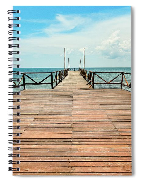 Dock To Infinity Spiral Notebook