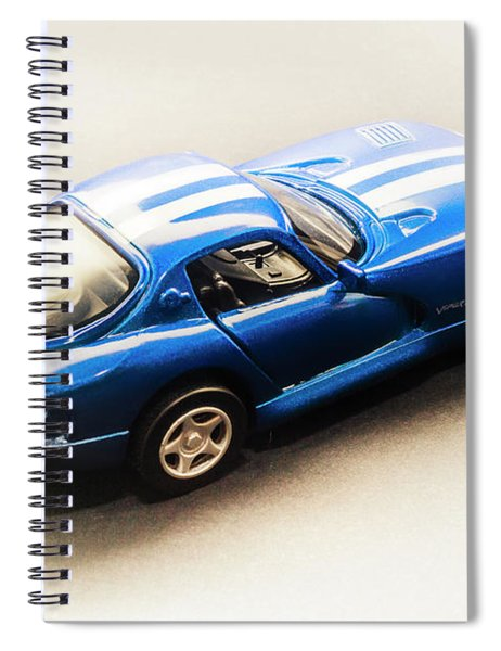 Dodge Viper Gts Spiral Notebook