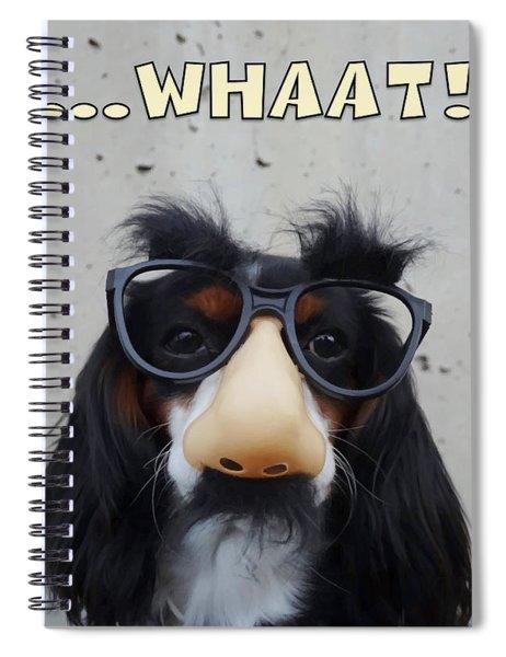 Dog Gone Funny Spiral Notebook