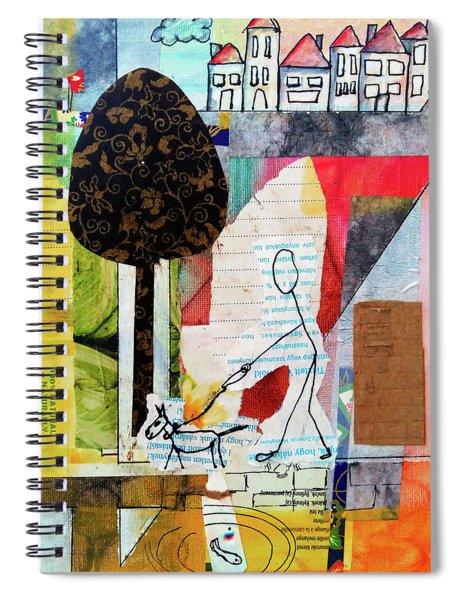 Doggie Walk Spiral Notebook