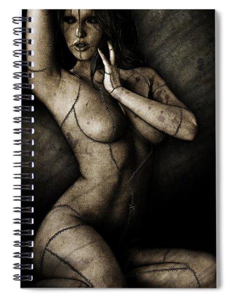 Dolly Spiral Notebook