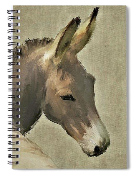 Donkey Spiral Notebook