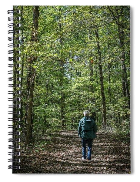 Donna At Heron Pond Spiral Notebook