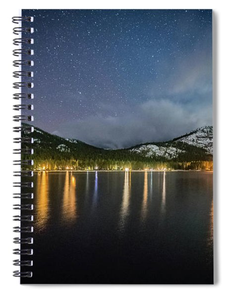 Donner Lake Before The Storm Spiral Notebook