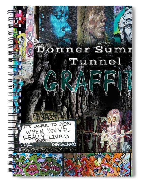 Donner Summit Graffiti Spiral Notebook