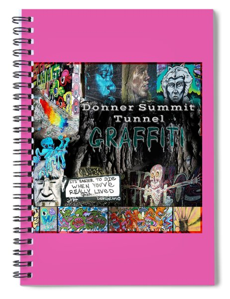 Donner Summit Graffiti Spiral Notebook