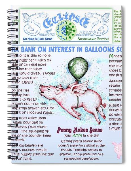 Dontcha Bank Spiral Notebook