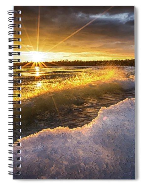 Door County Sunset Spiral Notebook