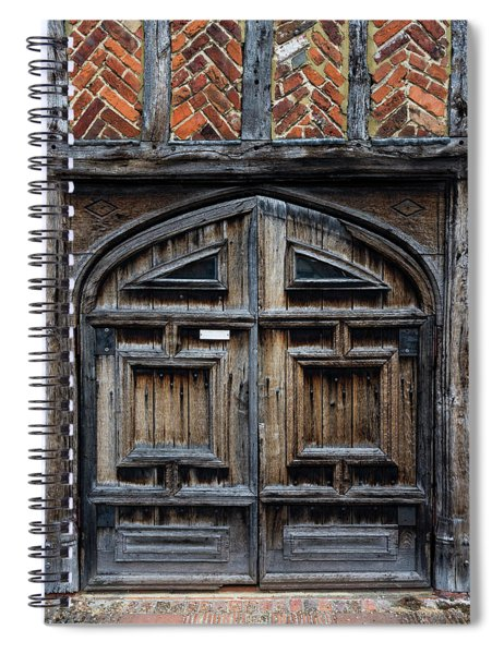 Door To The Past Spiral Notebook