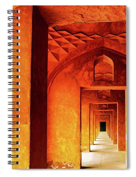 Doors Of India - Taj Mahal Spiral Notebook