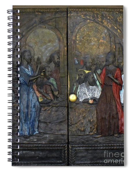 Doors Of The Church Of Saint Peter In Gallicantu Spiral Notebook