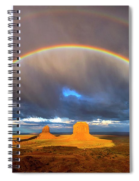 Monsoon Season At The Mittens Spiral Notebook