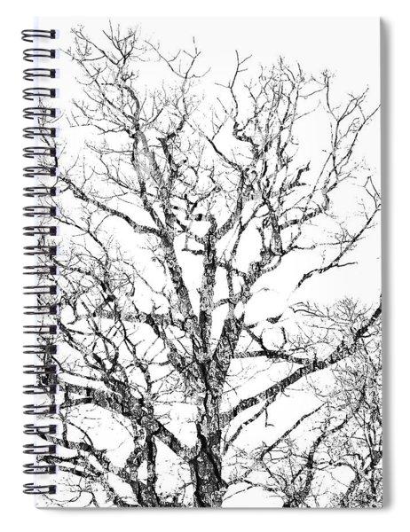 Double Exposure 1 Spiral Notebook