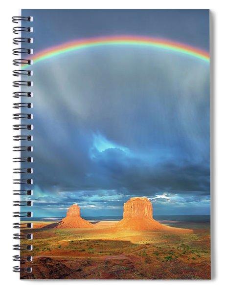 Double Good Luck  2 Spiral Notebook