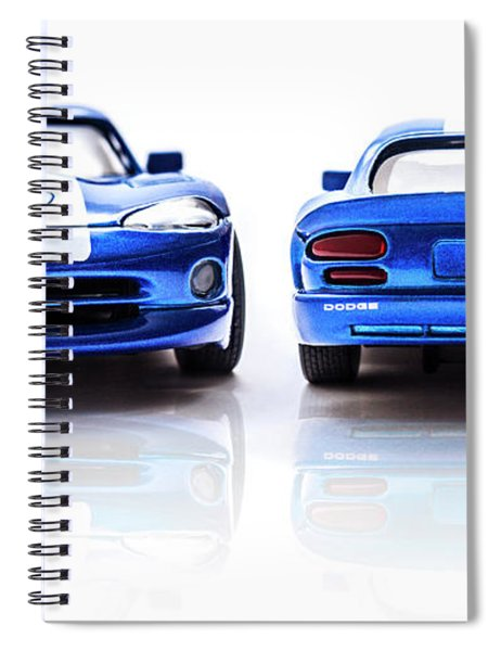 Double The Sting Spiral Notebook