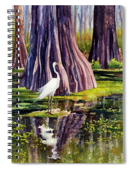 Down In The Swamplands Spiral Notebook
