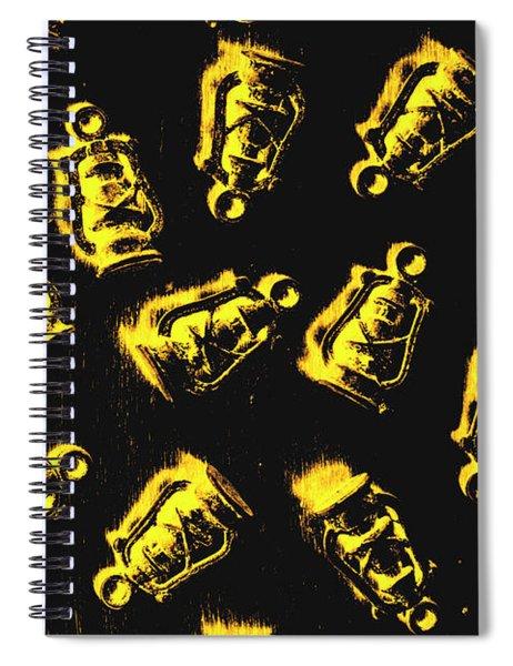 Down The Mineshaft Spiral Notebook