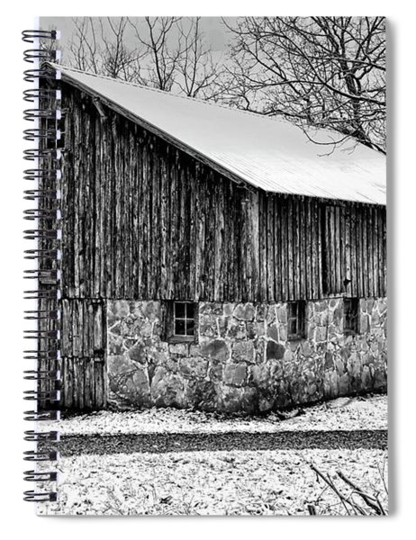 Down The Old Dirt Road Spiral Notebook