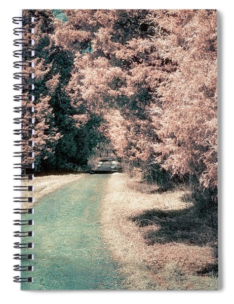 Down The Road Spiral Notebook