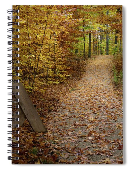 Down The Trail Spiral Notebook