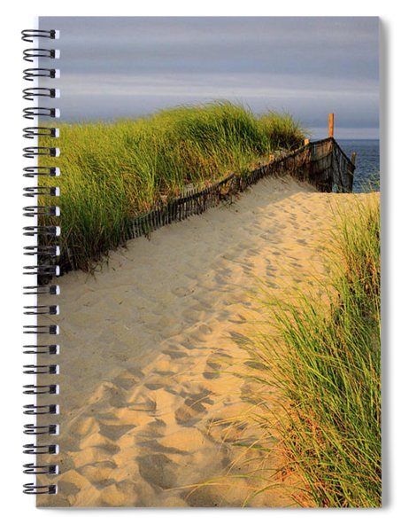 Down To The Sea Spiral Notebook
