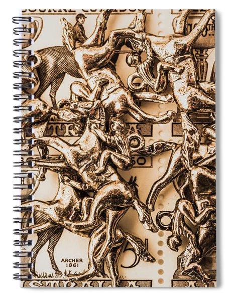 Down Under Derby Spiral Notebook