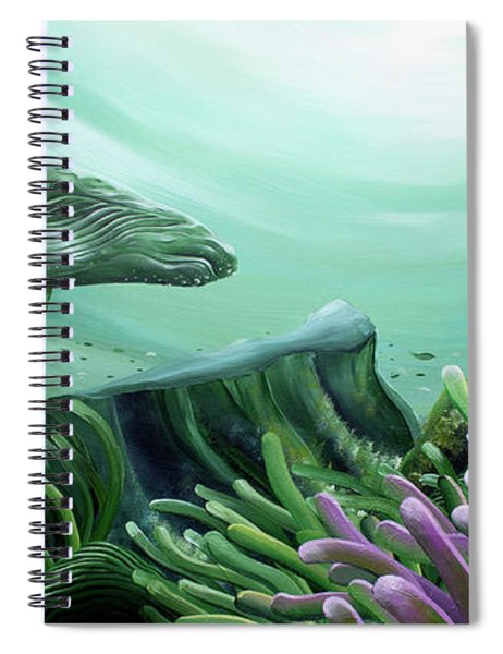 Down Under Spiral Notebook
