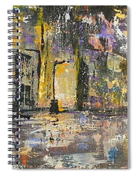Downtown Blues Uptown Jazz  Spiral Notebook