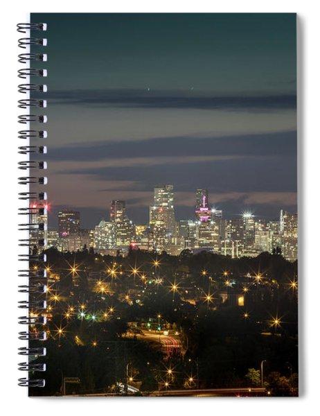 Downtown Dusk Spiral Notebook