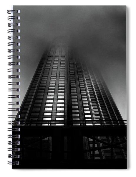 Downtown Toronto Fogfest No 11 Spiral Notebook