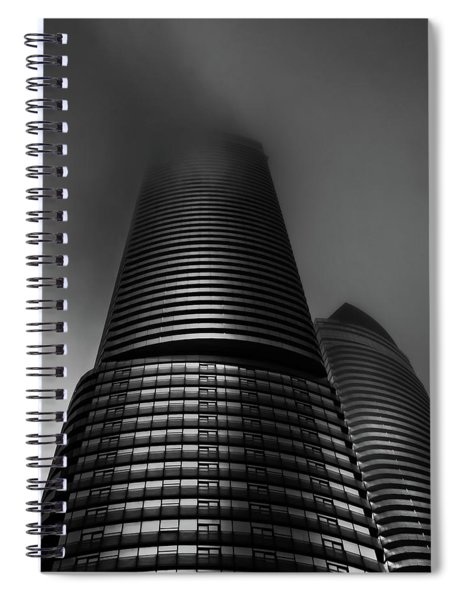 Downtown Toronto Fogfest No 21 Spiral Notebook