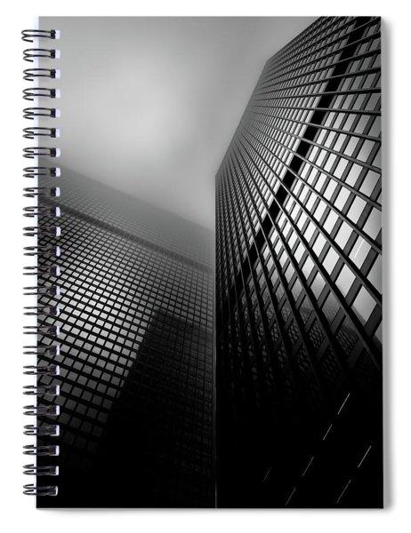 Downtown Toronto Fogfest No 27 Spiral Notebook