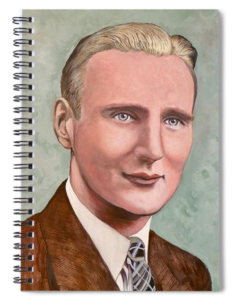 Dr. James Roderick II Spiral Notebook