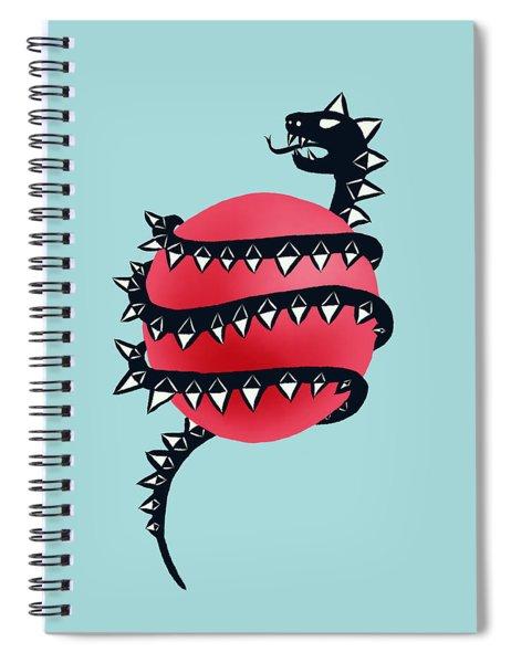 Dragon Snake Monster Spiral Notebook