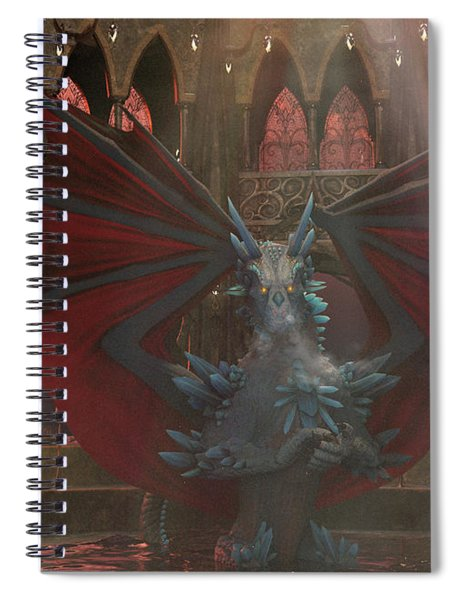 Dragon Steam Bath Spiral Notebook