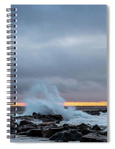 Dramatic Beginnings. Spiral Notebook