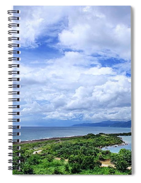 Dramatic Sky And Coastal Scenery Spiral Notebook