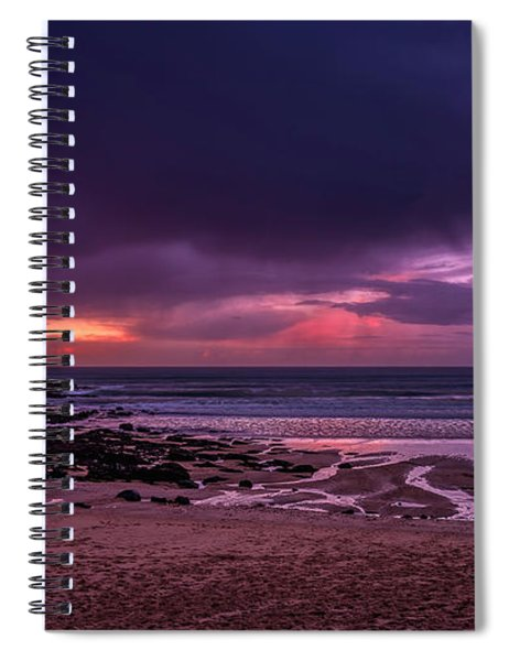Dramatic Sky At Porthmeor Spiral Notebook
