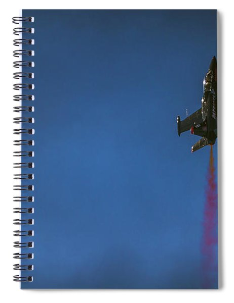 Dramatic Solo Spiral Notebook