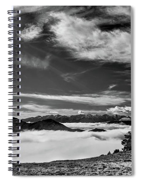 Dramatic Yet Serene Spiral Notebook