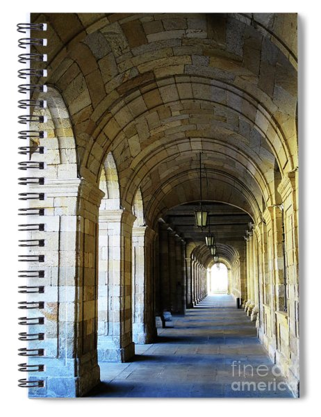 Drawn To The Light Spiral Notebook by Rick Locke