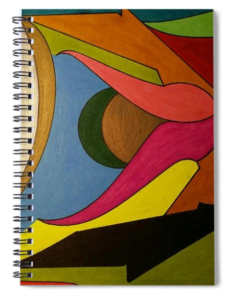Dream 341 Spiral Notebook