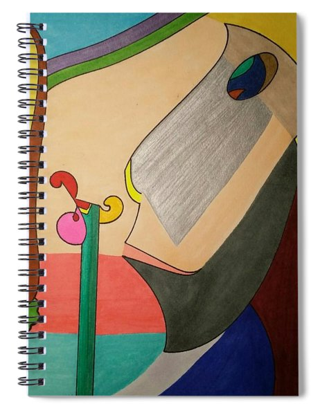 Dream 343 Spiral Notebook