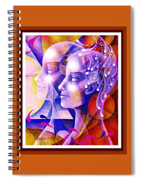 Dreaming Of The Future . . . Spiral Notebook