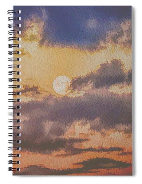 Dreamy Moon Spiral Notebook