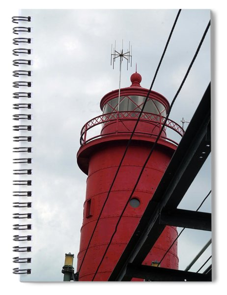Dressed In Red Spiral Notebook