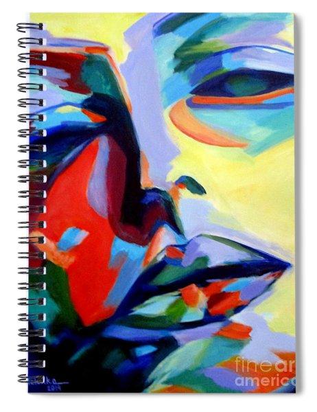 Drifting Into A Dream Spiral Notebook